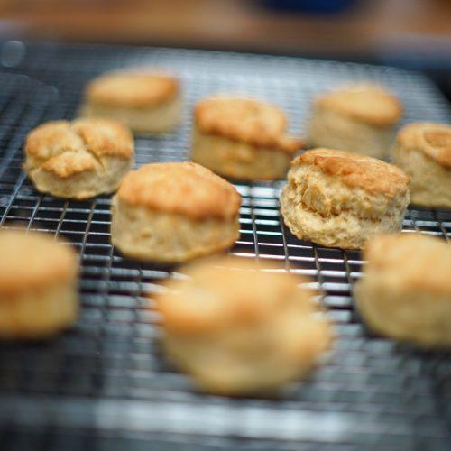 Scones, Baking